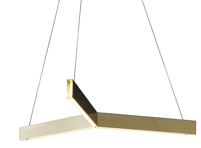 Tri LED Light Pendant