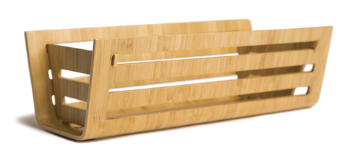 Collapsible bamboo basket