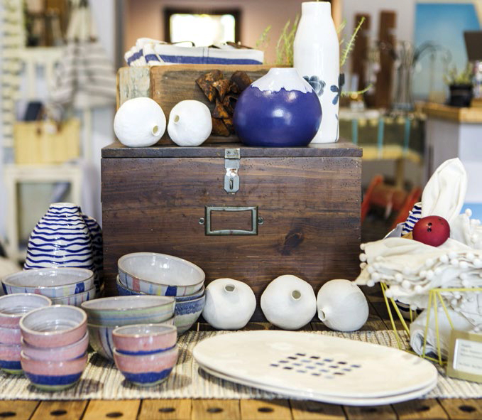 Home decor from Haberdasherie