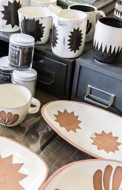 This Truckee shop looks like a new-age general store, with a well-trod wood floor and wares casually displayed on vintage stoves. It carries rustic home accessories and kitchenwares, including Linda Fahey ceramics and woven pie baskets from Peterboro Basket Co.