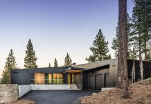 "IT WAS ONLY NATURAL that Erik Christoffersen would build a thoroughly modern vacation home in Martis Camp, the private luxury development outside of Truckee. The five-bedroom, 5,923-square-foot home is laid out ""like an accordion in terms of how it functions,"" explains Christoffersen."