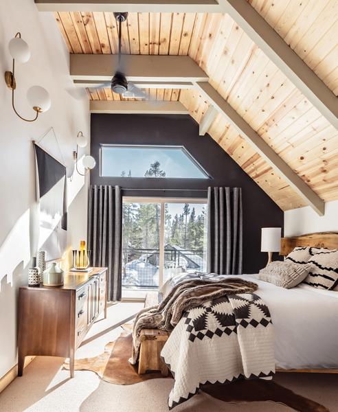 bedroom lodge